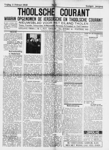 Ierseksche en Thoolsche Courant 1943-02-05