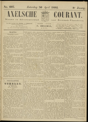 Axelsche Courant 1892-04-30