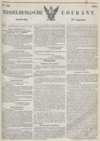 Middelburgsche Courant 1867-08-29