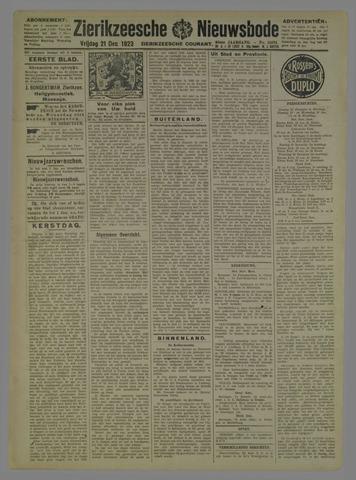 Zierikzeesche Nieuwsbode 1923-12-21