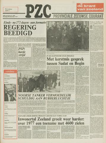 Provinciale Zeeuwse Courant 1977-12-20