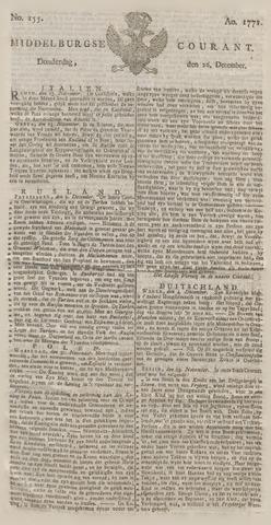 Middelburgsche Courant 1771-12-26