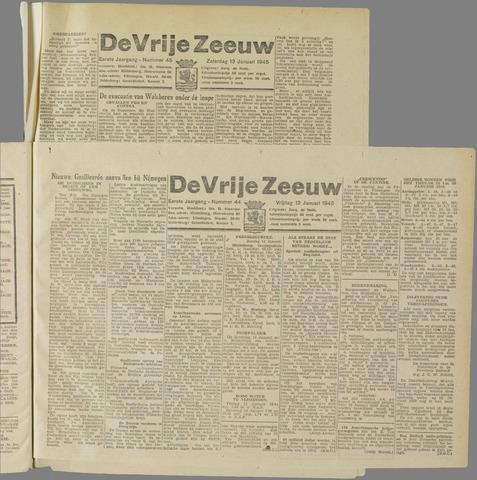 de Vrije Zeeuw 1945-01-12