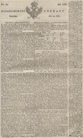 Middelburgsche Courant 1761-07-25