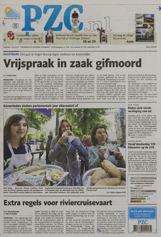 Provinciale Zeeuwse Courant 2011-07-01