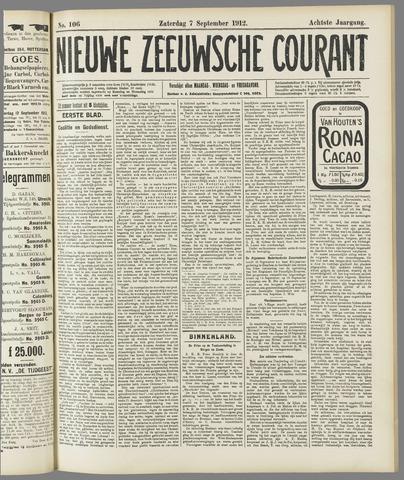 Nieuwe Zeeuwsche Courant 1912-09-07