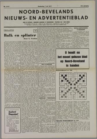 Noord-Bevelands Nieuws- en advertentieblad 1977-07-07