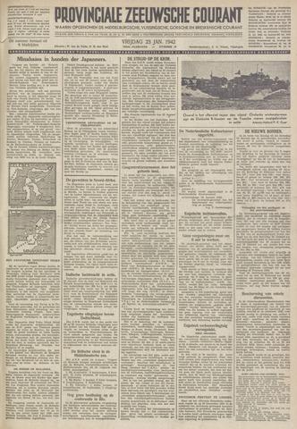Provinciale Zeeuwse Courant 1942-01-23