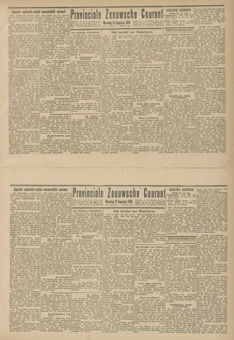 Provinciale Zeeuwse Courant 1945-08-13