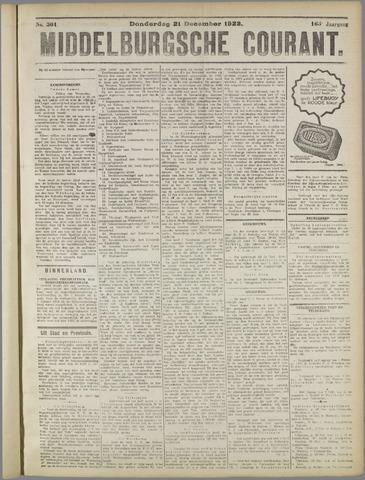 Middelburgsche Courant 1922-12-21