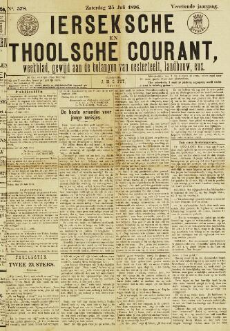 Ierseksche en Thoolsche Courant 1896-07-25