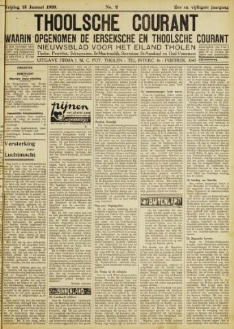 Ierseksche en Thoolsche Courant 1939-01-13