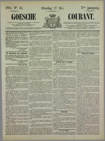 Goessche Courant 1884-05-27
