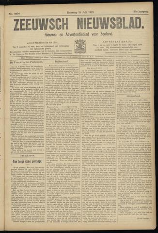 Ter Neuzensch Volksblad. Vrijzinnig nieuws- en advertentieblad voor Zeeuwsch- Vlaanderen / Zeeuwsch Nieuwsblad. Nieuws- en advertentieblad voor Zeeland 1919-07-19