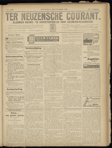 Ter Neuzensche Courant. Algemeen Nieuws- en Advertentieblad voor Zeeuwsch-Vlaanderen / Neuzensche Courant ... (idem) / (Algemeen) nieuws en advertentieblad voor Zeeuwsch-Vlaanderen 1929-10-30