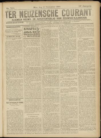 Ter Neuzensche Courant. Algemeen Nieuws- en Advertentieblad voor Zeeuwsch-Vlaanderen / Neuzensche Courant ... (idem) / (Algemeen) nieuws en advertentieblad voor Zeeuwsch-Vlaanderen 1926-11-15