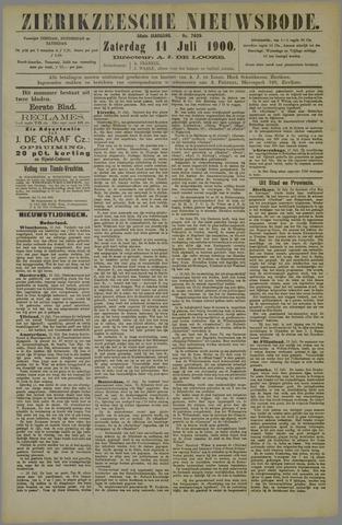 Zierikzeesche Nieuwsbode 1900-07-14