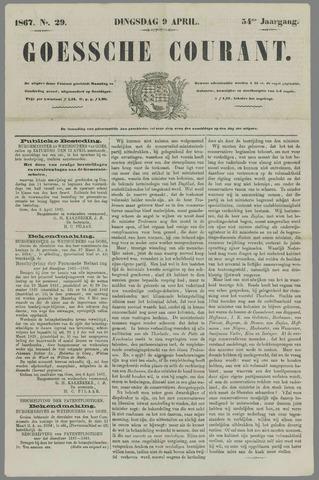 Goessche Courant 1867-04-09