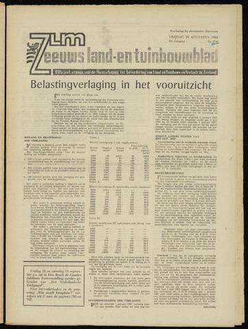Zeeuwsch landbouwblad ... ZLM land- en tuinbouwblad 1964-08-28