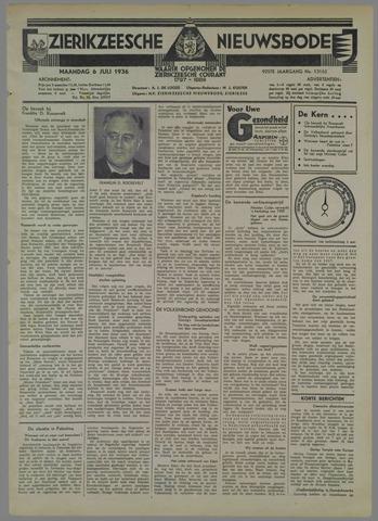 Zierikzeesche Nieuwsbode 1936-07-06
