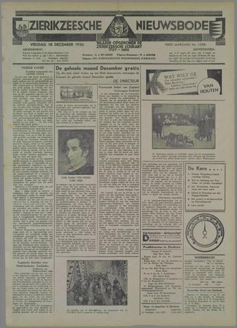 Zierikzeesche Nieuwsbode 1936-12-18