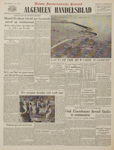 Watersnood documentatie 1953 - kranten 1953-02-26