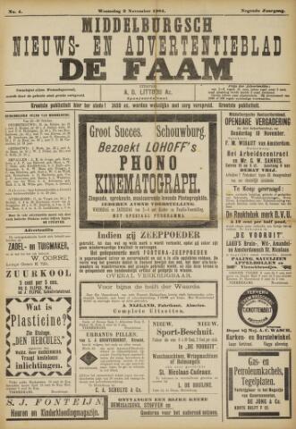 de Faam en de Faam/de Vlissinger 1904-11-02