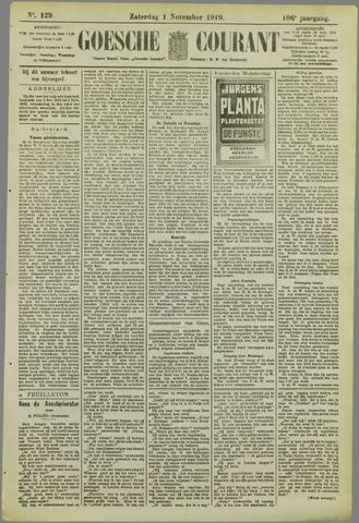 Goessche Courant 1919-11-01