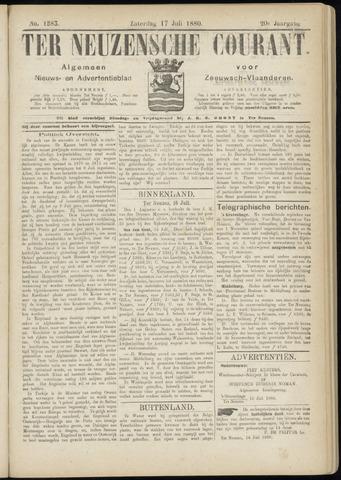 Ter Neuzensche Courant. Algemeen Nieuws- en Advertentieblad voor Zeeuwsch-Vlaanderen / Neuzensche Courant ... (idem) / (Algemeen) nieuws en advertentieblad voor Zeeuwsch-Vlaanderen 1880-07-17
