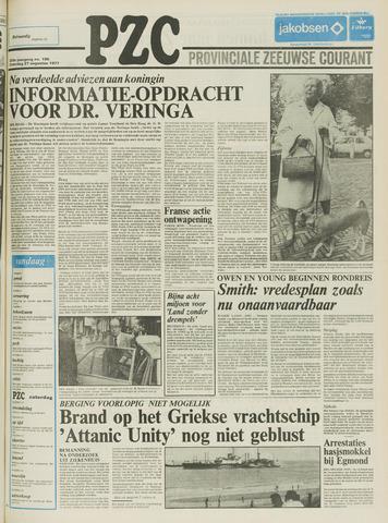 Provinciale Zeeuwse Courant 1977-08-27
