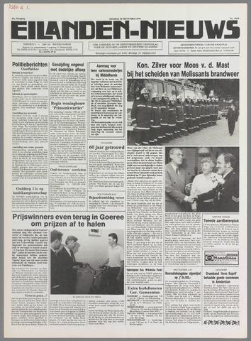 Eilanden-nieuws. Christelijk streekblad op gereformeerde grondslag 1990-09-18