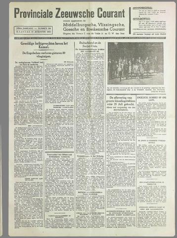 Provinciale Zeeuwse Courant 1940-08-12