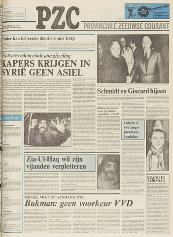 Provinciale Zeeuwse Courant 1981-03-16
