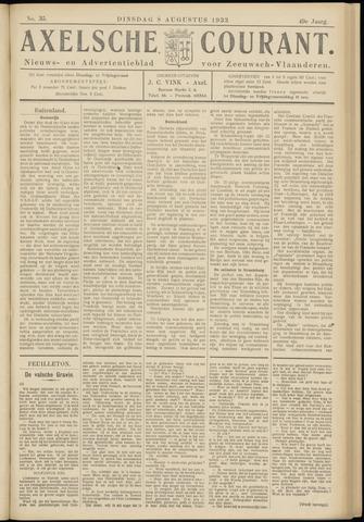 Axelsche Courant 1933-08-08