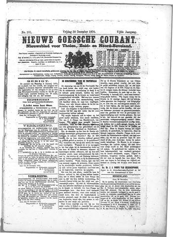 Nieuwe Goessche Courant 1870-12-30