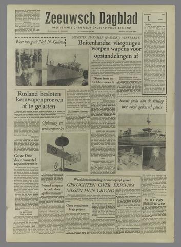 Zeeuwsch Dagblad 1958-04-01