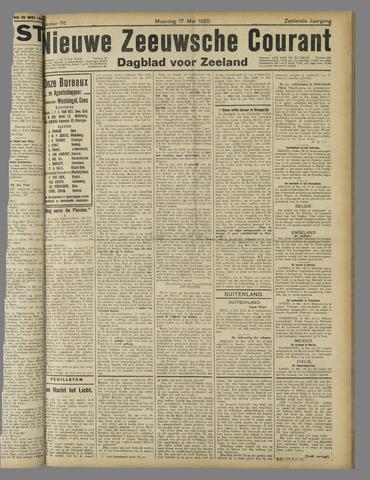 Nieuwe Zeeuwsche Courant 1920-05-17