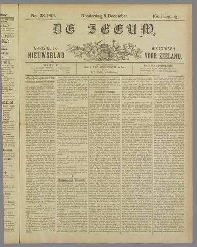 De Zeeuw. Christelijk-historisch nieuwsblad voor Zeeland 1901-12-05