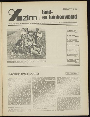 Zeeuwsch landbouwblad ... ZLM land- en tuinbouwblad 1971-08-20