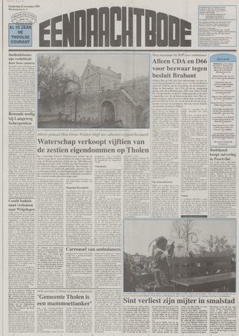 Eendrachtbode (1945-heden)/Mededeelingenblad voor het eiland Tholen (1944/45) 1999-11-25