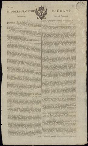 Middelburgsche Courant 1814-08-18