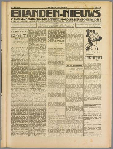 Eilanden-nieuws. Christelijk streekblad op gereformeerde grondslag 1936-07-18