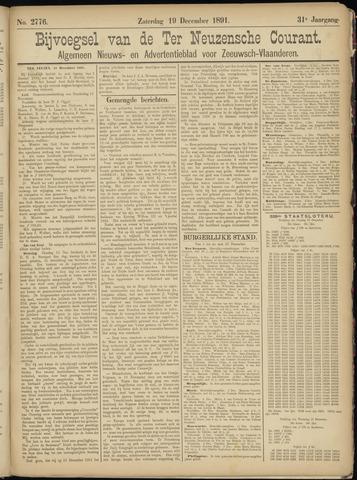 Ter Neuzensche Courant. Algemeen Nieuws- en Advertentieblad voor Zeeuwsch-Vlaanderen / Neuzensche Courant ... (idem) / (Algemeen) nieuws en advertentieblad voor Zeeuwsch-Vlaanderen 1891-12-19