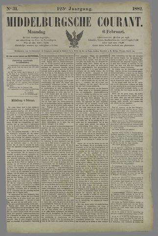 Middelburgsche Courant 1882-02-06