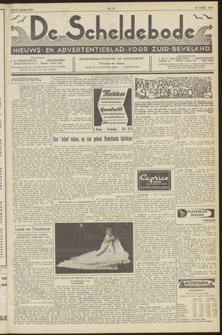 Scheldebode 1962-04-20