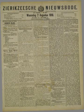 Zierikzeesche Nieuwsbode 1916-08-02