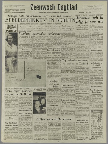 Zeeuwsch Dagblad 1959-07-01