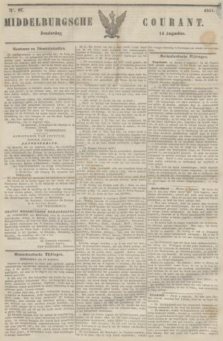 Middelburgsche Courant 1851-08-14
