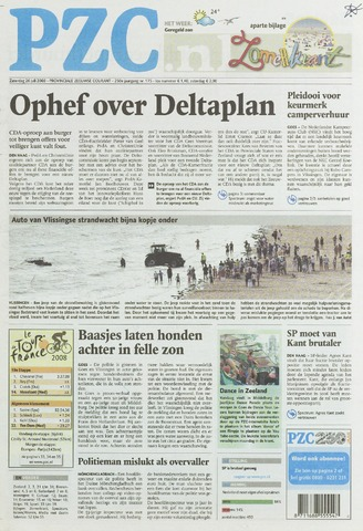 Provinciale Zeeuwse Courant 2008-07-26