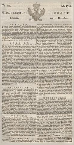Middelburgsche Courant 1768-12-31